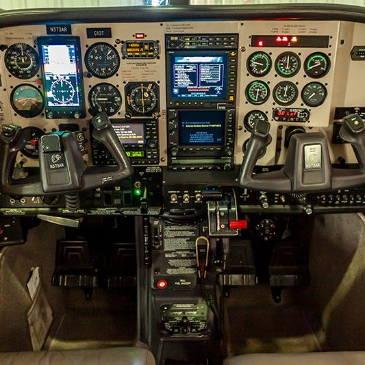 Plane Control Panel800